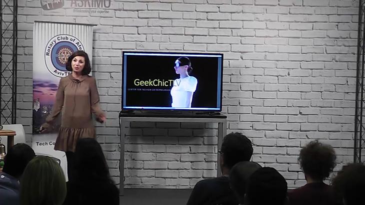 כנס FashionTek - ויקה כנר יזמית מייסדת GeekChic TLV